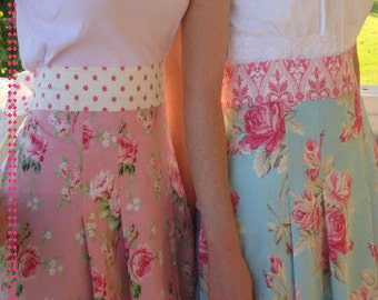 Pleated Cottage Apron Sewing Pattern