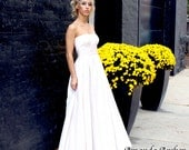 Ivory Eyelet Wedding Gown