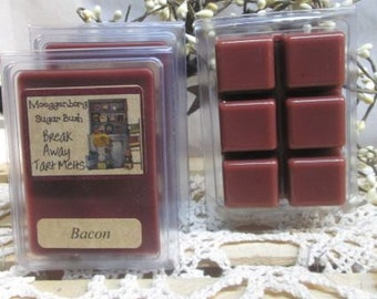 Bacon Scented Clamshell Wax Tart Melts