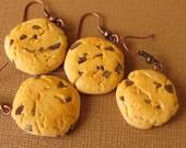 Chocolate Chip Cookie Earrings NICKEL FREE