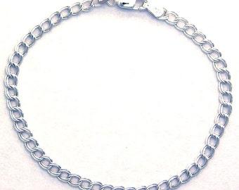 7.25 Inch Charm BRACELET 925 Sterling Silver