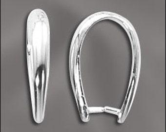 PINCH BAIL 925 Sterling Silver 18mm