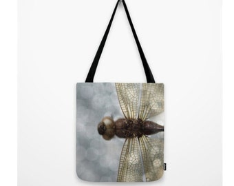 Dragonfly Bag Woodland Dragonfly Art Nature Decor Woodland Forest Scene Water Insect  Odonata Epiprocta