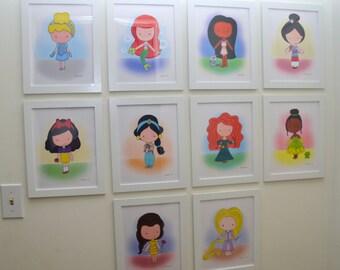 Princess Prints. A la carte. No Frames