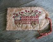 Primitive Americana Wagon Hang Tag