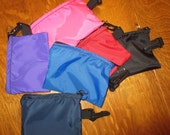 Inhaler bag size small holds 2 inhalers side hook to clip on to almost anything color choice