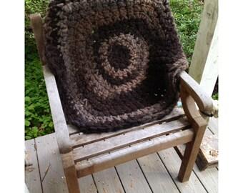 Pure, Natural Alpaca Round Rug Or Meditation Mat