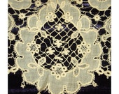 Stunning Vintage EDWARDIAN LACE Collar - Hand Made and Wonderfully Collectible