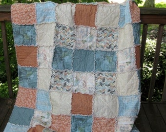 Rag Quilt – Sweet Serenade - Free US Shipping