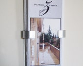 Custom Wall Brochure Holder for 13.5 x 13.5 Brochures
