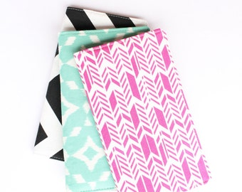 Custom Fabric Checkbook Cover, Cute Gift for Her, Group Discount