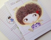 Little Curly mini notebook