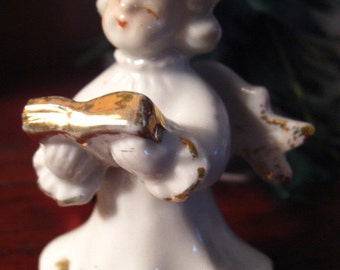 50s Angel We Have Heard on High CHRISTMAS FIGURINE