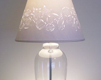 fill your own seashell table lampshell lamp
