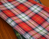 Red Tartan Cloth Napkins- set of four by Dot and Army