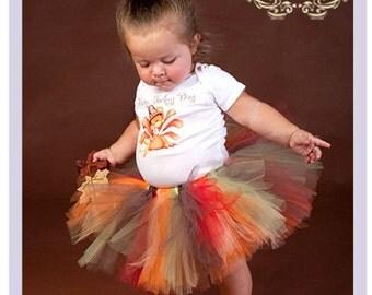 Thanksgiving Tutu Outfit Baby Girl Turkey Outfit Baby Girl Thanksgiving Outfit 9 12 18 Months