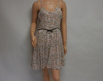 SALE Rayon Floral CALICO Romper