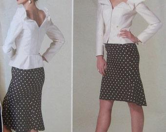 Vogue Bellville Sassoon Top Skirt Pattern V1296