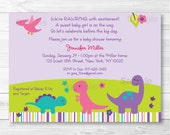 Girl Dinosaur Baby Shower...