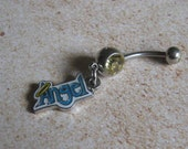 Angel Belly Button Ring