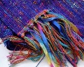 perfectly purple handwoven scarf