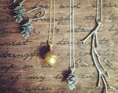 Acorn Necklace Pendant