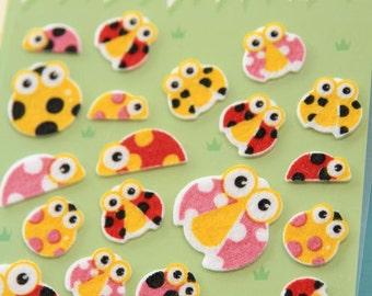 Felt Stickers (P163.36 - Ladybug)