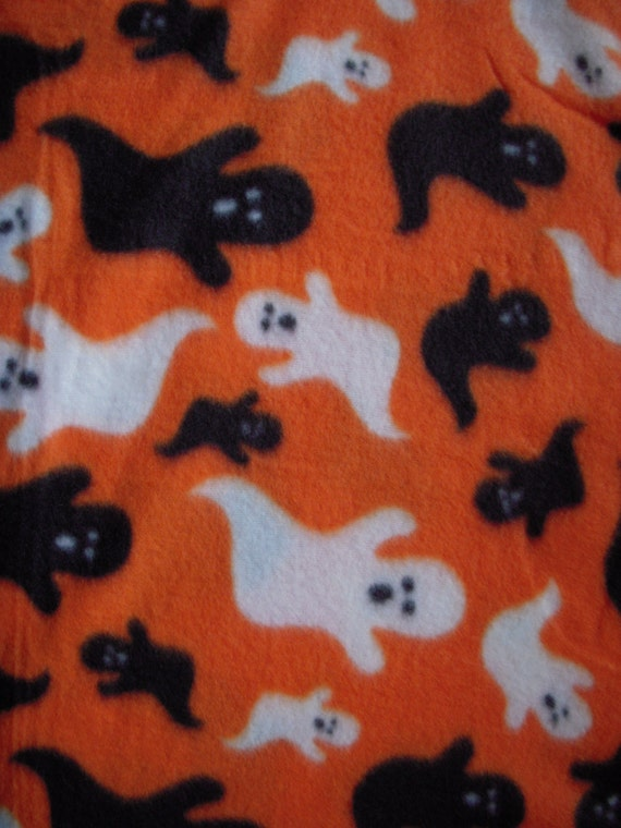 Halloween Ghost Nosew Fleece Blanket