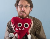Large Plush Valentine's Grrr Heart