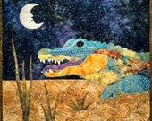 Ally the Alligator Fusible Applique Pattern
