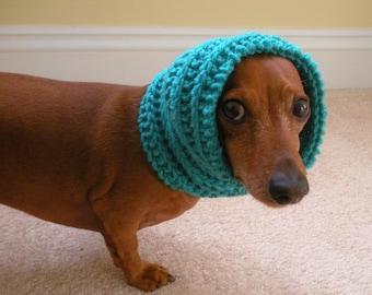 Dog Neck Warmer, Knit PDF PATTERN, Sizes Small to Large