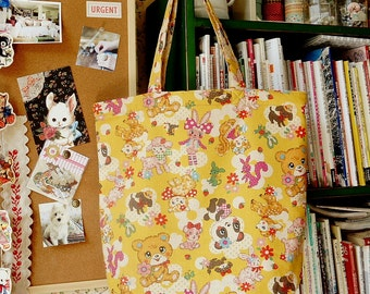 Kawaii Japanese Handmade ECO-Friendly Shopping Women Bag Tote