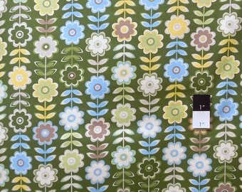 Jenean Morrison PWJM076 In My Room Retreat Green Cotton Fabric 1 Yard