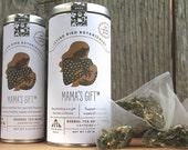 0439 mama's gift herbal tea, 15 large bio-mesh compostable tea bags