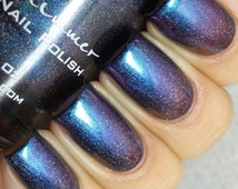 Rollin' With The Chromies Multichrome Holographic Color Shifting Nail Polish-  0.5 oz Full Sized Bottle