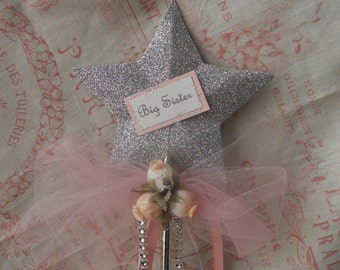 Big Sister Princess Wand with Rose Buds
