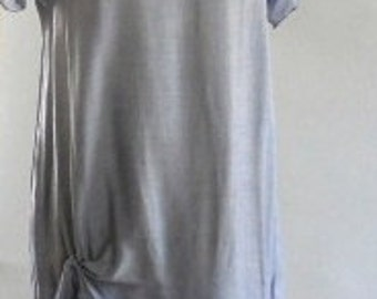Bamboo and Silk Periwinkle Dress