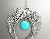 2 Large Angel Wings