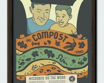 Compost - 11x14 poster print
