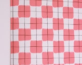 Vintage wallpaper Thibaut double roll pink and black