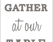 Come and Gather - Label Only