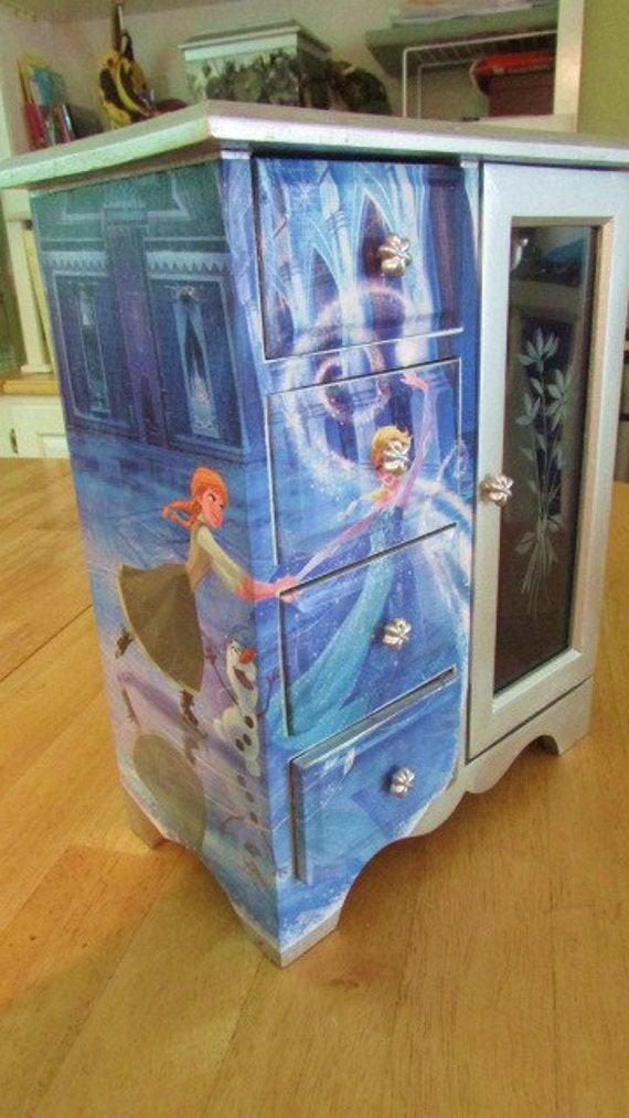 Storage Organizer Toy Box Disney Frozen Playroom Bedroom: Special Order For Wendy Queen Elsa And Princess Anna From