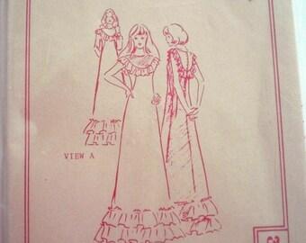 Patterns Pacifica 3062 Hawaiian Dress Pattern in 2 Styles