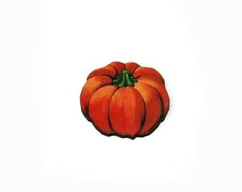 Halloween Brooch, Pumpkin Brooch, Thanksgiving, Halloween Badge