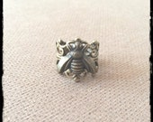 Buzy Bee Brass Filigree Ring