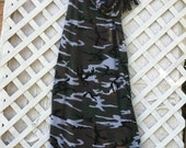 Camouflage Summer Dress and matching scarf