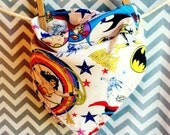 Wonder Woman reversible neckerchief scarf