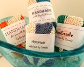 PDF Crocheted, Handmade, Handknit Wrappers, Tags
