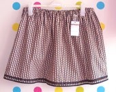 Vintage style floral stripe print UK 20 22 24 26 Plus Size