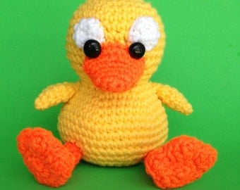 PDF Crochet Pattern DUCKY